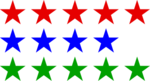 14 stars