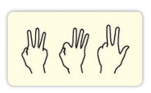 hands with fingers