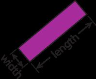 slanted rectangle